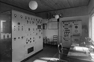 Joensuu broadcasting station, equipment made in Yleisradio's workshop in Helsinki, 1938