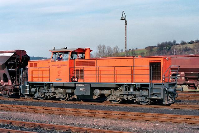 HEG: Lok 831 in Heimboldshausen