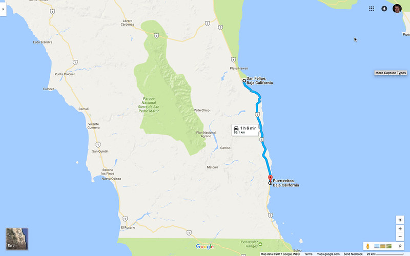 San Felipe to Puertecitos