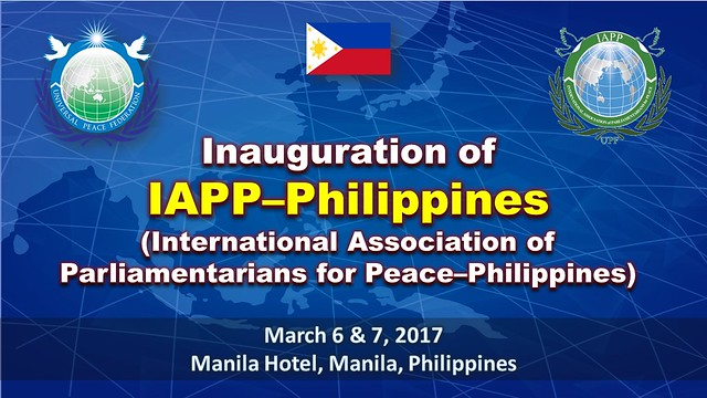 Philippines-2017-03-07-Parliamentarians Association Launched in the Philippines