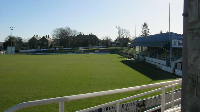 The Look Local Stadium at Bracken Moor