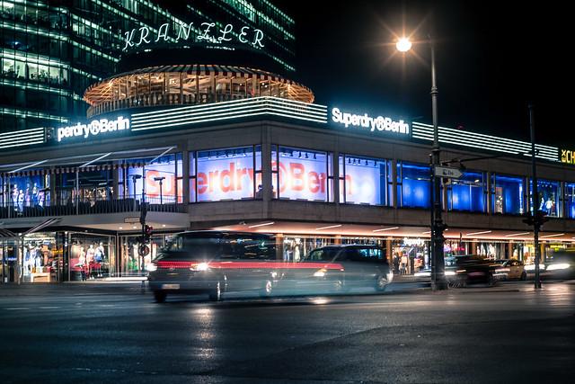 Industrial night in Berlin