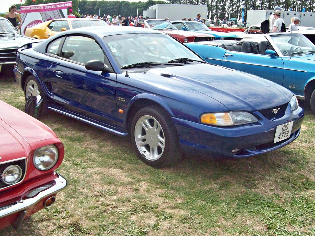 094 ford mustang gt 4th gen pre facelift 1995 flickr