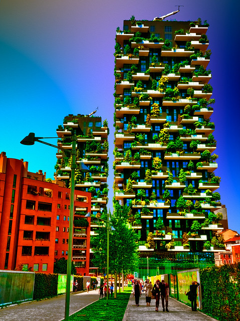 Milano - Bosco Verticale - Vertical Forest