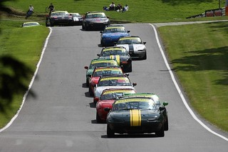 BRSCC Mazda MX5 Supercup, Cadwell Park,18-19 July 2015