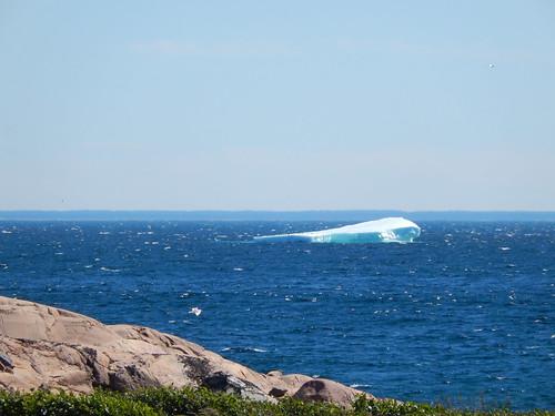 Labrador coastal drive - ijsberg