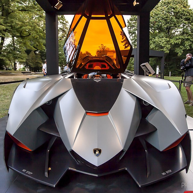 Lambo Lamborghini Egoista Car Cars Concept Color G Flickr