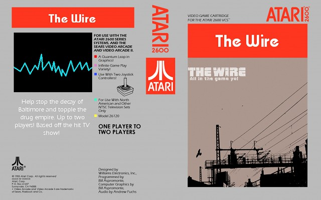 The Wire on the Atari 2600