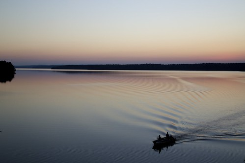 sunset lake water canon hope boat nc fishing durham northcarolina apex treeline 6d jordanlake 24105mm