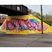 NEW ON THE #SKEIN >> #manymanynewideas #nomorecars #byebyedufferin #sufferin'dufferin' #streetart #mural #lexrandevoke #steps #painting #blobtechnique #toronto #art #instagramlimitations by www.pasystem.org instagram thepasystem