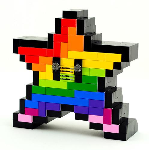 Electronic LEGO Super Mario Invincibility Starman