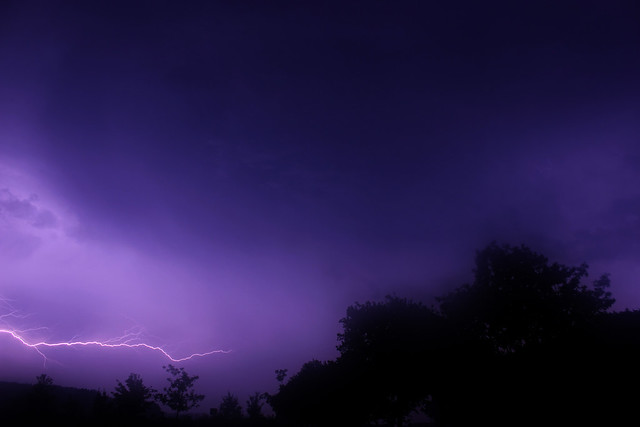 Thunderstorm, Rosendahl, Germany, 06-06-2014