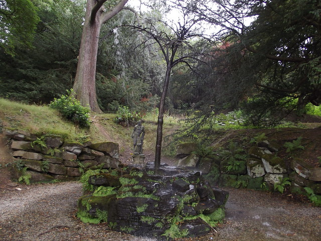 Gardens at Chatsworth - Willow Tree Fountain