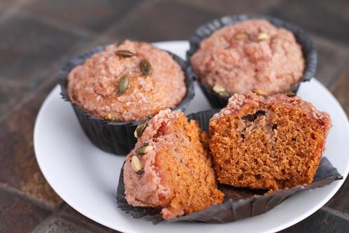 Pumpkin Espresso Cream Cheese Muffins | by niftyfoodie