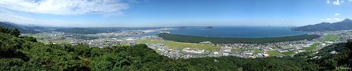 japan saga karatsu kagamiyama pineforest 佐賀 唐津 nijinomatsubara 虹の松原 鏡山