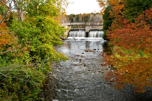 fallcolors stream dam ontariocanada knarrgallery darylknarr knarrphotography