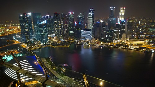 Singapore - view from Marina Bay Sands hotel | by mccrya