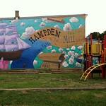 Hampden History Mural
