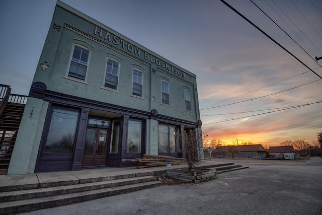 Haston Block, Spencer, Van Buren County, Tennessee