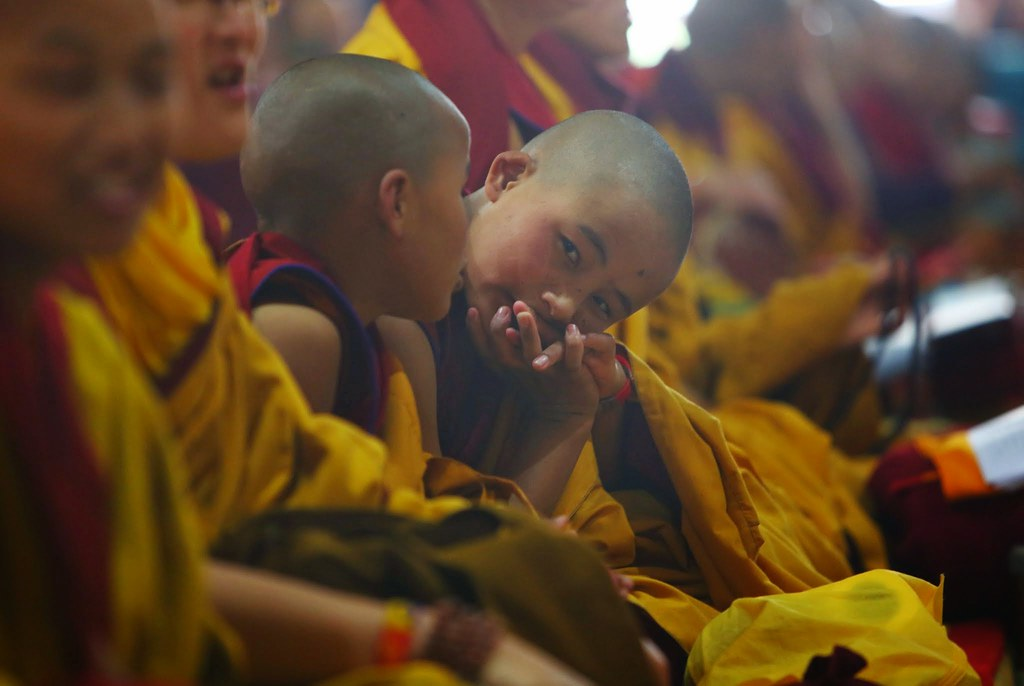 2015.01.15 Gyalwang Karmapa Leads Chöd Puja; A String of Jewels