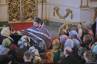 Литургия в Покровском соборе 435