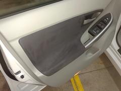 Taxi Lavado especial de la puerta piloto. Despues