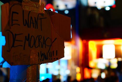 Occupy Mongkok, Hong Kong Umbrella Revolution | by jimmylau12