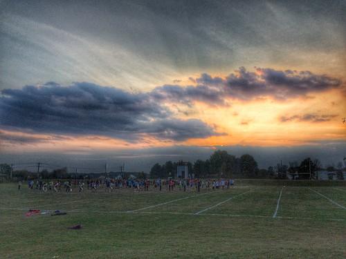 band camp practice sunset pickerington ohio