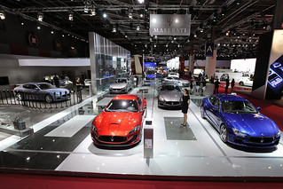 Maserati-stand-at-Paris-Motorshow