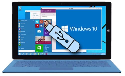 Jak zrobić bootowalny pendrive z Windows 10
