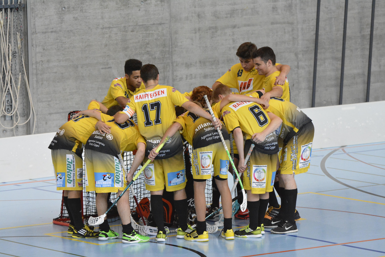 Junioren U21D - UHC Avry Saison 2014/15