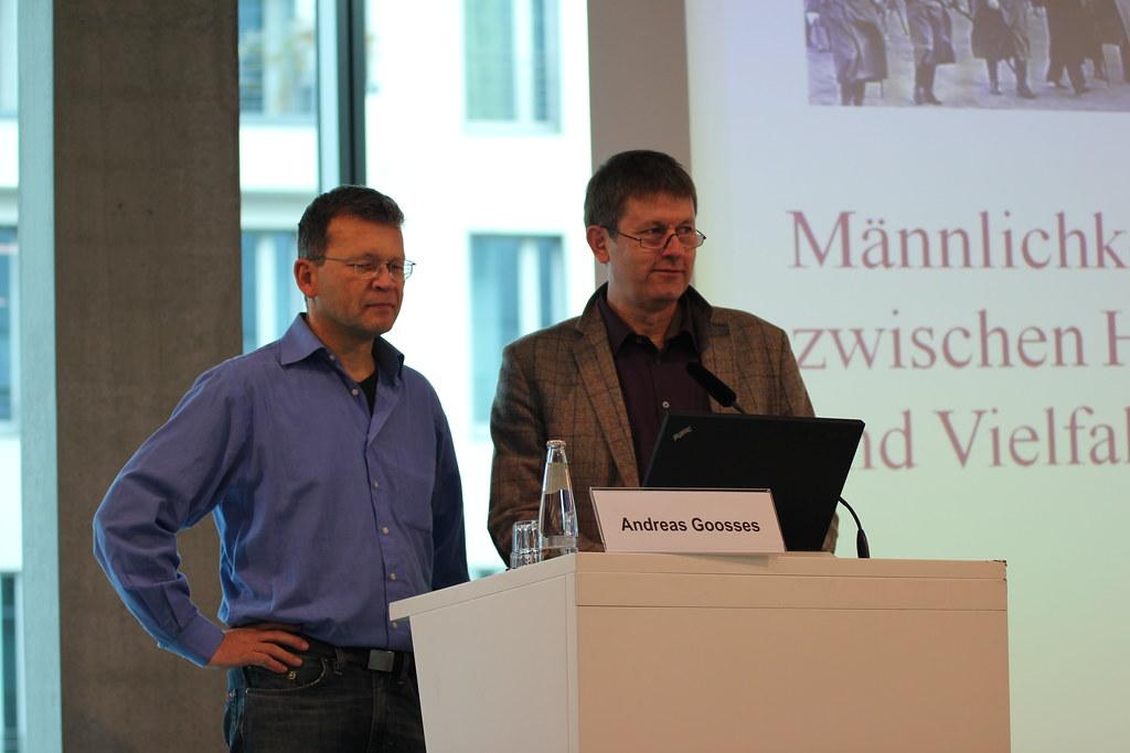 Andreas Goosses, Forum Männer und  Henning von Bargen, Gunda-Werner-Institut