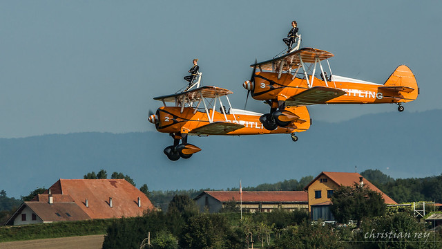 Air14 Payerne: Breitling Wingwalkers