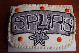 Spurs Birthday Cake | by Bake A Wish