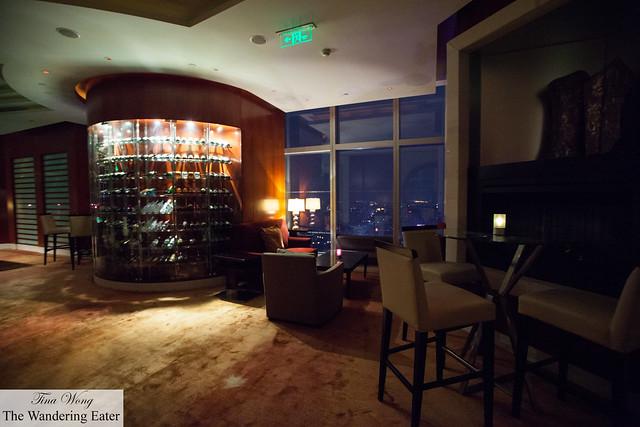 Interior of 789 Nanjing Lu Bar + Lounge on the 66th Floor
