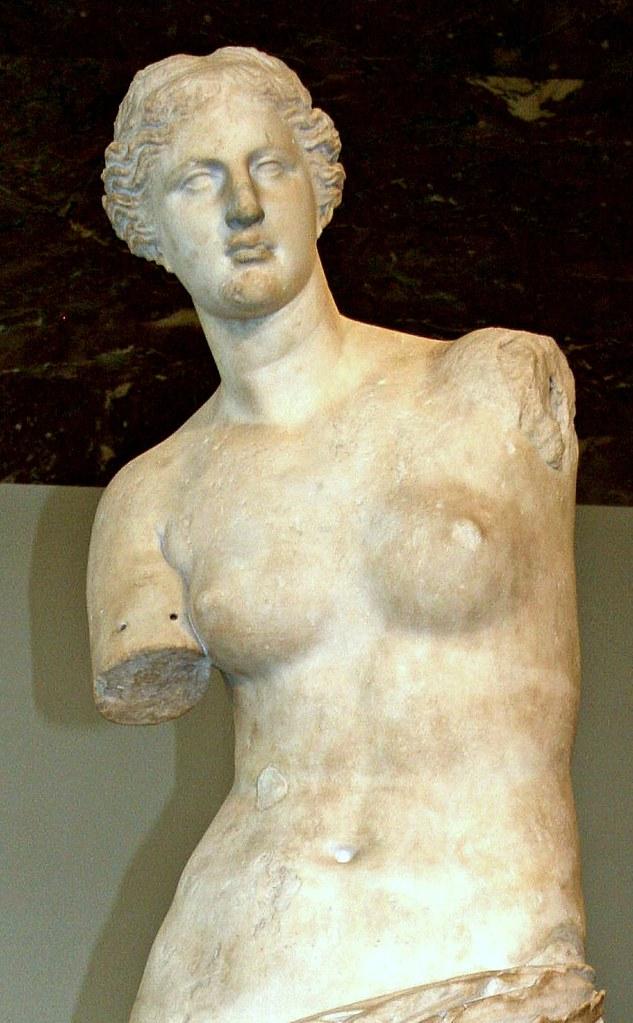 Alexandros of Antioch, Venus de Milo. 323-31 BC.