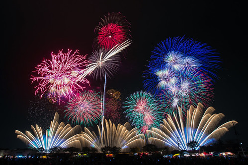 Tsuchiura Fireworks Display | by peaceful-jp-scenery (busy)