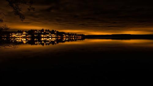 city light sunset cloud skyline night project nikon long exposure fuji sundown post sweden stockholm side horizon country fujifilm weekly 52 d800 sigtuna 2470 stockholmcounty xe2 view52 52weeksofphotography