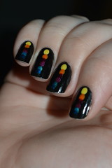 RAINBOW NAILS - DESAFIO DA LIGA