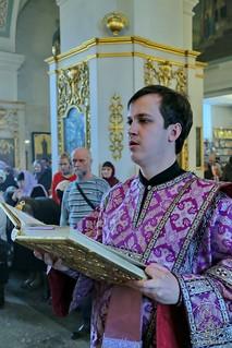 Литургия в Покровском соборе 235