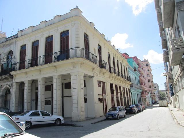 Restored corner building