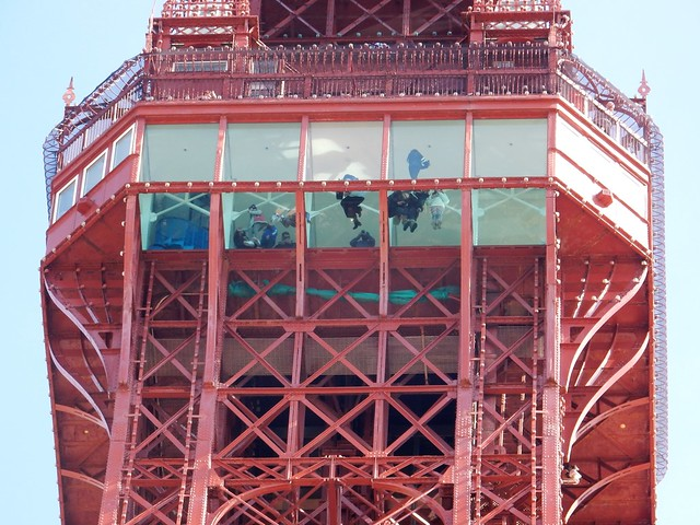 Blackpool Tower Top, The Walk of Faith.