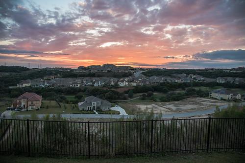 sunset sonoma verde san antonio texas usa unitedstatesofamerica south southern southwest