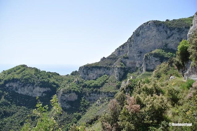 Rinnemaisemaa Sentiero degli Dein patikointireitillä