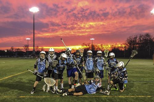 lacrosse sunset