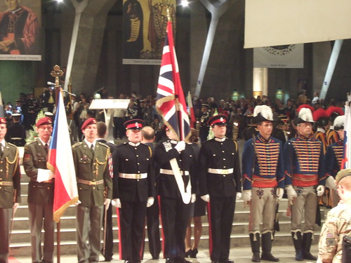 Opening Ceremony: RMAS Colour Party | by rc.bishop
