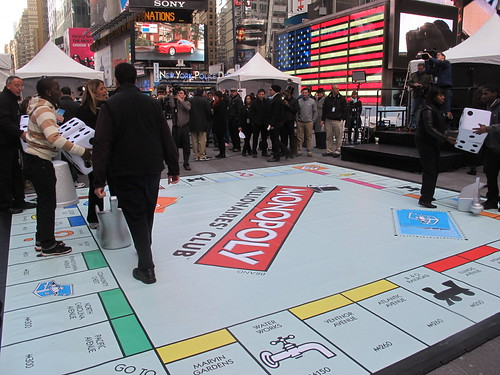 Do not pass Go. Do not collect $200. Life size Monopoly board in Times Square NYC | by AndrewDallos
