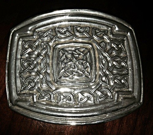 Donald MacLeod Memorial Silver Buckle | by inning