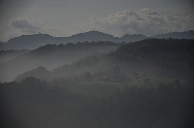 Nebbia e nuvole