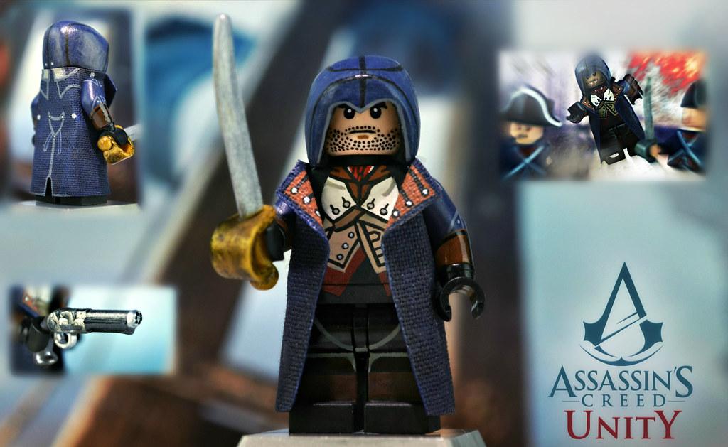 Lego Assassin S Creed Unity Arno Dorian Assassin S Creed Flickr
